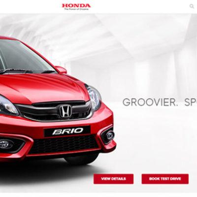 Design and Development of Honda Nepal website