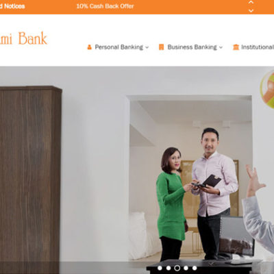 Design and Development of Laxmi Bank Website